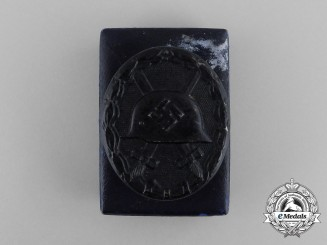A Second War German Black Grade Wound Badge