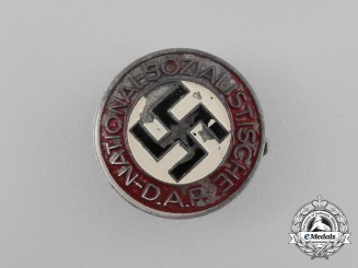A NSDAP Party Member's Lapel Badge by Rudolf Reiling of Pforzheim