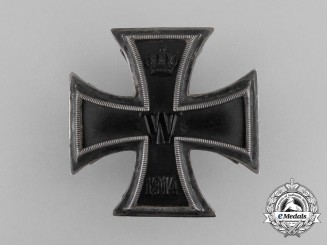 An Iron Cross 1st Class 1914; Screwback by Paul Meybauer
