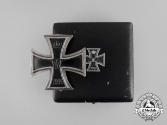 An Iron Cross 1st Class 1914; Dedicated in Remembrance of Champagne & Verdun