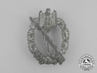 A German Silver Grade Infantry Assault Badge by Sohni, Heubach & Co.