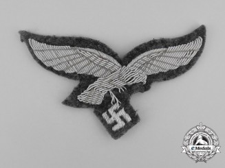A Luftwaffe Officer's Breast Eagle; Uniform Removed