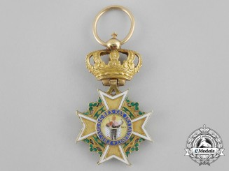 Saxony, Kingdom. An Order of St. Henry, I Class Knight in Gold, c.1815
