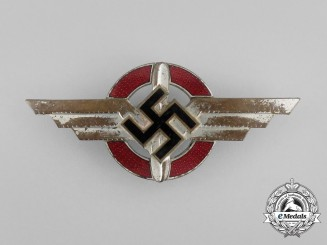 A DLV (German Air Sports Association) Cap Badge