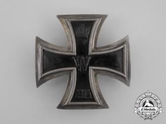 An Uncommon Iron Cross 1st Class 1914 by Königliche Muenzamt Stuttgart