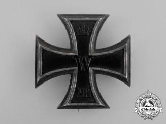 An Iron Cross 1st Class 1914 by Johann Wagner & Söhne, Berlin