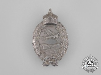 A First War Prussian Pilot Badge in Silver by Paul Meybauer