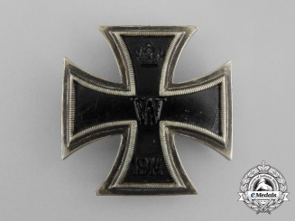 An Uncommon Iron Cross 1st Class 1914 by A. Werner & Sohne