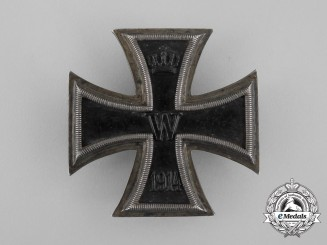 An Uncommon Iron Cross 1st Class 1914 by H.B.G.