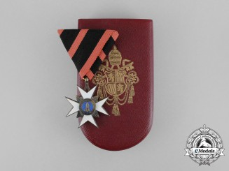 Vatican. An Order of St. Sylvester; Type II Knight's Cross, by Rothe