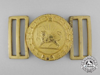 An Iranian Military Dress Belt Buckle