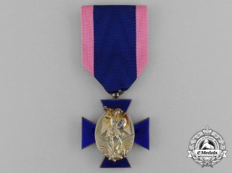 A Bavarian Royal Merit Order of St. Michael; 4th Class Cross