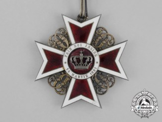 An Order of the Crown of Romania; Commander 3rd Class