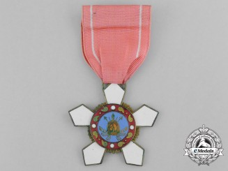 A Korean Order of Military Merit; 4th Class (Hwarang)