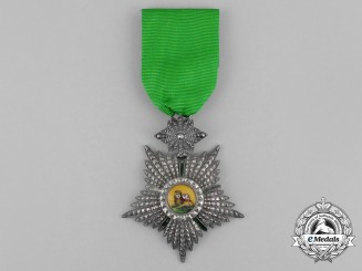 An Iranian Order of the Lion and the Sun; 4th Class