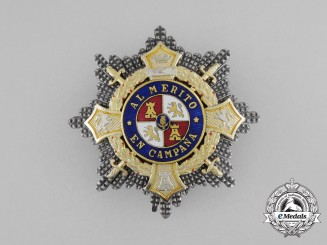 A Second War Period Spanish War Cross, Breast Star, Type I (1938-1942)