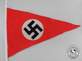 A Mint and Unissued NSDAP Garland Wimpel (Girlandenfahne)