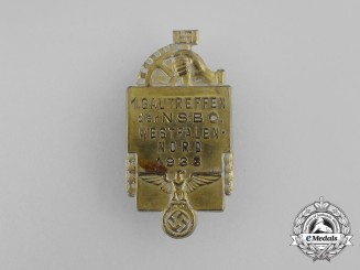 A 1933 NSBO Westfalen-North 1st Regional Council Day Badge