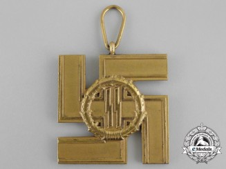 An SS 25-Year Long Service Award; Second Version