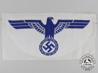 A Second War German Kriegsmarine Sports Shirt Eagle Insignia