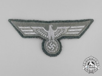 A Wehrmacht Heer (Army) EM/NCO's Breast Eagle; Uniform Removed