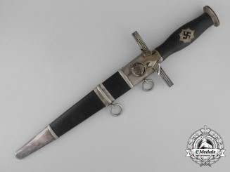A Second Model Reichsluftschutzbund Dagger by Alcoso of Solingen