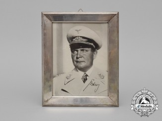 A 1935/36 Framed & Signed Photograph of Hermann Göring