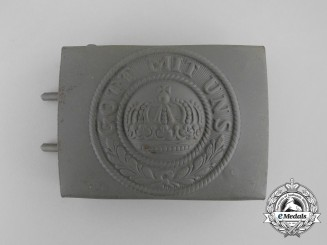 "A ""Old Stock"" German Imperial Army Enlisted Man's Belt Buckle"