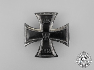 An Uncommon Iron Cross 1st Class 1914 by J.H.Werner, Berlin