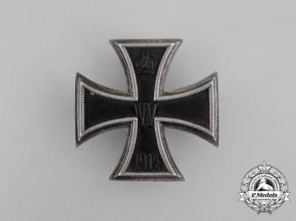 An Iron Cross 1st Class 1914 by Carl Dillenius, Pforzheim