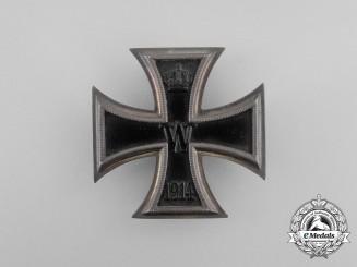 An Iron Cross 1st Class 1914 by J.H. Werner, Berlin