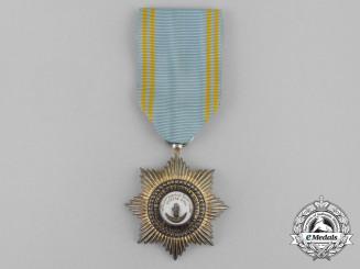 A French Made Order of Star of Anjouan; Knight's Badge