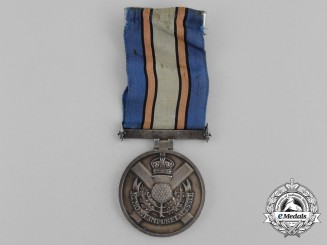 A Second War American St. Andrew's Society of Philadelphia Service Medal
