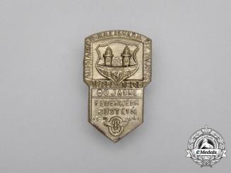 A 1936 60 Years of Volunteer Firefighters in the Taunus Region Badge