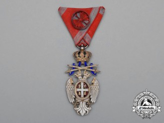 A Serbian Order of the White Eagle; Officer with Swords