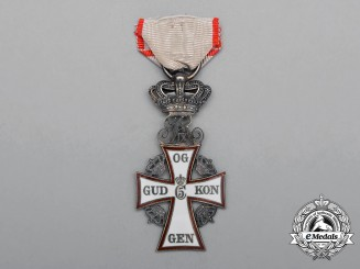 A Danish Order of Dannebrog; 3rd Class Knight, Christian IX (1863-1906)