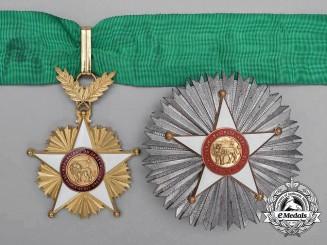 A Order of the Lion of Senegal; Commander's Set