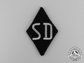 A Mint and Unissued SS-Security Service of the Reichsführer Sleeve Diamond