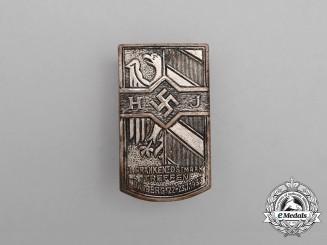 A 1933 HJ 1st Frankenostmark Meeting in Nürnberg Badge