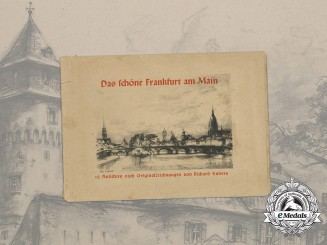 A Wartime Collection of 12 Drawings of Frankfurt