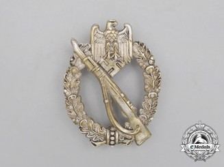 An Early & High Quality Silver Grade Infantry Assault Badge