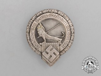 "A 1931 ""The People's Day of Teplitz-Schönau"" Badge"
