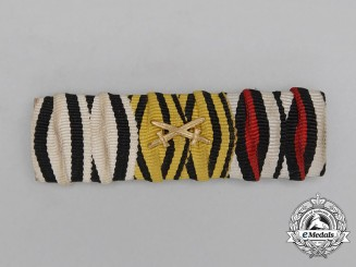 A First War German Non-Combatant's Ribbon Bar