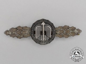 A Luftwaffe Short Range Night Fighter Clasp; Bronze Grade