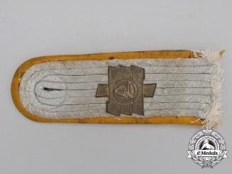 "A Wehrmacht Reconnaissance Lieutenant ""Feldherrnhalle"" Division Shoulder Board"