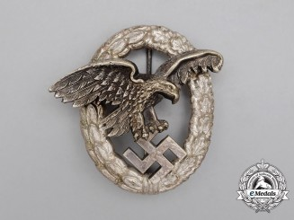 An Early Type Luftwaffe Observer's Badge by Paul Meybauer