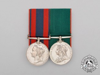 A North West Canada Service Pair to the Montreal Garrison Artillery