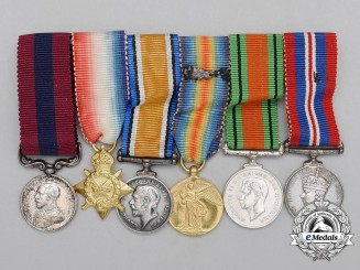 A Miniature First War Distinguished Conduct Medal Group