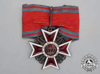 An Order of the Crown of Romania; Commander (1881-1932)