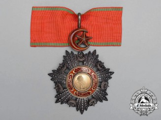 A Turkish Order of Medjidie (Mecidiye); Commander 3rd Class